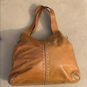 Michael Kors leather hobo